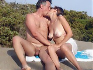 (10 pictures) Sweet nude teens get fucked hard inside their lewd pussies on the beach