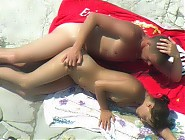 (10 pictures) Nude amateur girl on the beach, beach sex voyeur