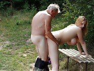 Nudist young girls with pervert old men