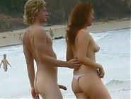 (4 pictures) More nudist sexuality - accidental erections on beach