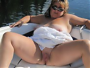 (7 pictures) Plump nude boaters for good outdoor fucking