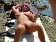 (5 pictures) Sexy nudists having fun