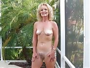 (7 pictures) Naked nudist mommies near their houses