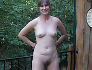 (7 pictures) Mature nudist wives and couples outdoors